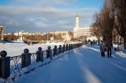Пішохідна прогулянка зимовим Харковом/ Фоторепортаж