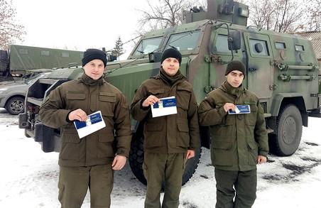 Бійці-ветерани Слобожанської бригади отримали посвідчення учасника бойових дій