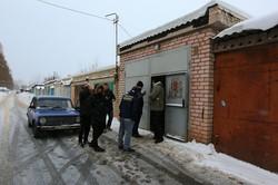 """«Східний Корпус» ліквідував нелегальну """"точку"""", де торгували російським бензином/ Фоторепортаж"""