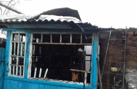 Під час пожежі загинула 74-річна жінка