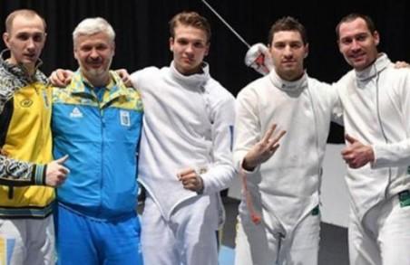 Харківський шабліст Максим Хворост став бронзовим призером у команді