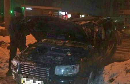 Розбили Subaru, замість того, щоб помити: ця та інші ДТП у Харкові за добу / ФОТО