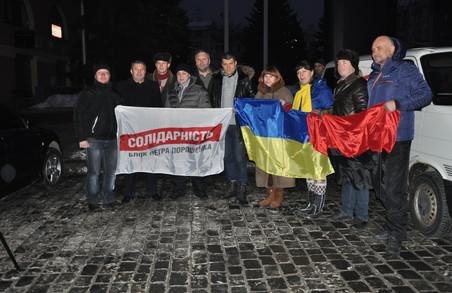 Харківські активісти «Солідарності» відправили першу гуманітарну допомогу до Авдіївки