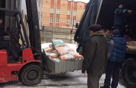 Харківщина допомогає Авдіївці будівельними матеріалами - до зони АТО прибув другий гуманітарний вантаж/ ФОТО