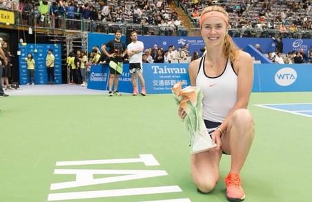 Світоліна виграла тенісний турнір у Тайбеї