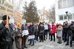 Активісти виступили проти конкурса щодо пам'ятника на площі Свободи/ Фоторепортаж