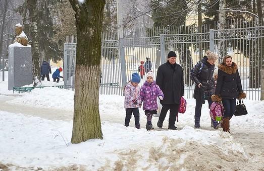 Морози: у школах Харківщини призупинені заняття