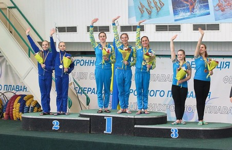Харківські синхроністки виграли чемпіонат України