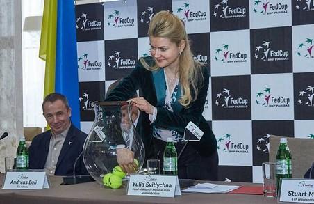Світлична взяла участь у жеребкуванні тенісного Кубка Федерації/ Доповнено, Фото, ВІДЕО