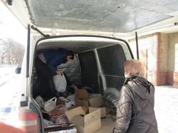Харківська «Солідарність» відправила гуманітарну допомогу на Донбас