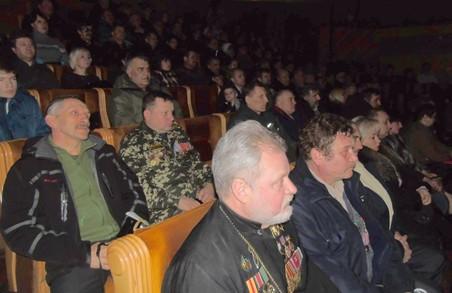 Харківських афганців вшанували державними нагородами