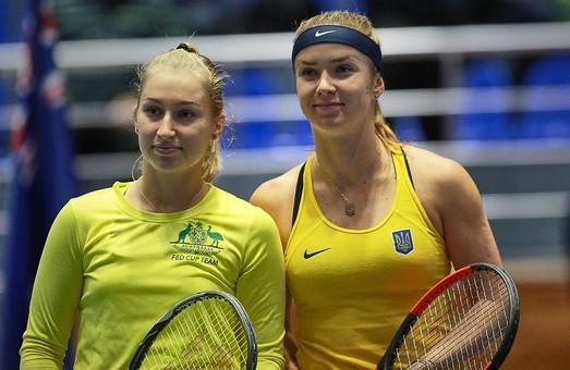 Україна-Австралія, матч Fed Cup. Найяскравіші моменти/ Фоторепортаж-2