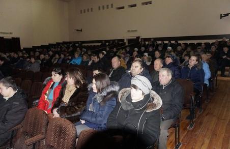 Харківський депутат від «Солідарності» відзвітував перед виборцями