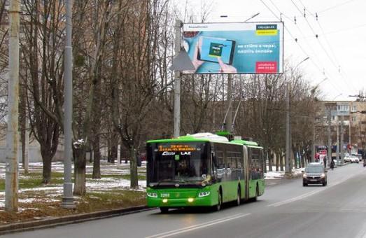 Тролейбус №1 знову тимчасово не курсуватиме