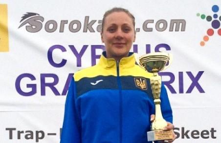Харків'янка стала призером Гран-прі Кіпру зі стендової стрільби