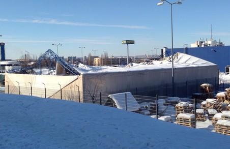 Метро-обвал у Харкові. Конструкція не витримала снігу