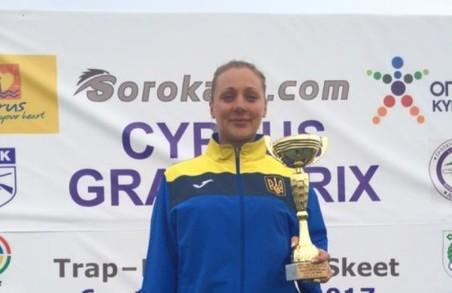Харків'янка Черв'якова вразила 69 мішеней та здобула «бронзу» в Кіпрі