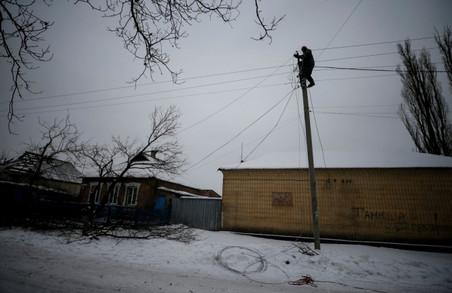 В Авдіївці повністю відновили електропостачання