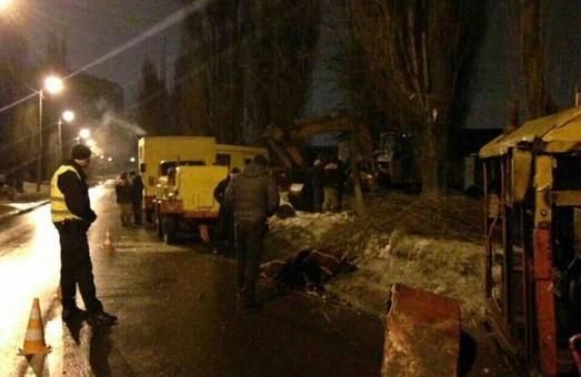 Поліція розшукує автомобіль, який збив слюсара «Харківводоканалу»