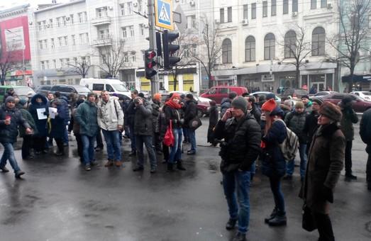 Харківська міськрада відмовилась винести на сесію питання Шишкіна / Фоторепортаж