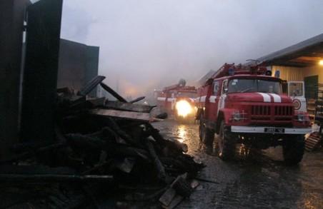 Рятувальники відшукати пенсіонерку в густому диму палаючого будинку