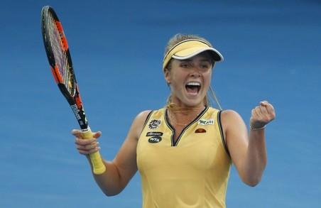 Харків'янка Еліна Світоліна вийшла до фіналу турніру в Дубаї