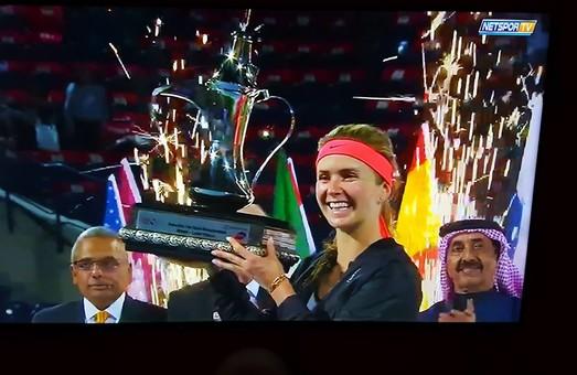 Еліна Світоліна виграла турнір в Дубаї і стала десятою ракеткою світу/ ФОТО
