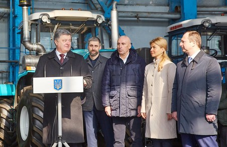 Промисловість і наука: Світлична презентувала Президентові нові успіхи регіону / ФОТОРЕПОРТАЖ