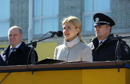 Світлична новій поліції – «Служить чесно. Ви потрібні країні»/ Фото