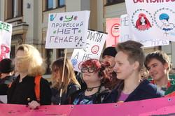 Свобода. Рівність. Економічні права. Як в Харкові пройшов марш до 8 березня