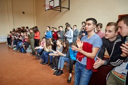 Курсанти Академії Нацгвардії продемонстрували свої вміння школярам/ Фоторепортаж