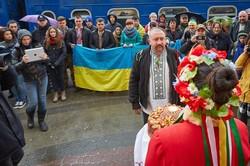 Слобожанська Січ привітала Труханівську Січ/ ФОТОРЕПОРТАЖ