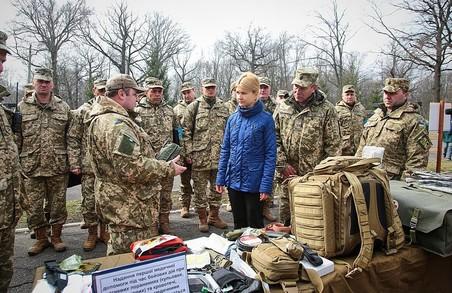 Як губернатор Харківщини брала участь у заняттях з питань територіальної оборони
