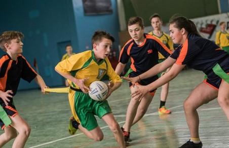 Команда 128 школи стала чемпіоном Харківської шкільної регбійної ліги/ Фото