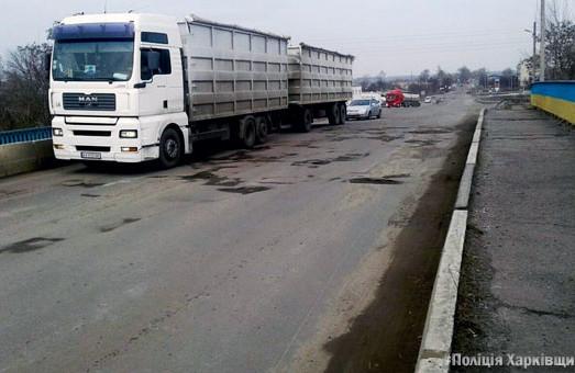 Полицейские Харьковщины проинспектировали 85 км дорог Балаклейского района и остались недовольны