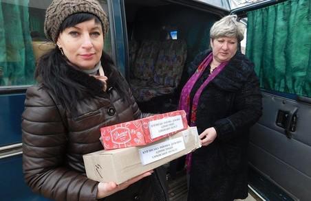 Харківська «Солідарність» передала гуманітарку для військових АТО