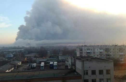 Ситуація в Балаклії: паніки немає, спостерігаються вибухи різної інтенсивності
