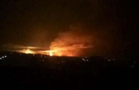 Балаклія: локалізувати пожежу поки не вдалося
