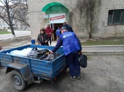 Харківська «Солідарність» продовжує надавати допомогу мешканцям Балаклії