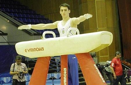 Харків'янин Грико завоював три медалі чемпіоната України зі спортивної гімнастики