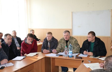 У Балаклії пройшло засідання штабу з будівництва та відновлення споруд, що постраждали внаслідок НС