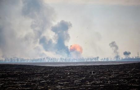 У Балаклії знову лунають вибухи/ Відео