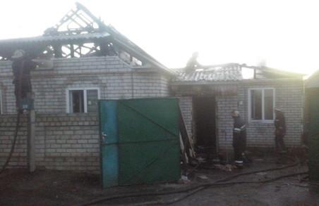 На Мічуріна згорів приватний будинок/ Фото