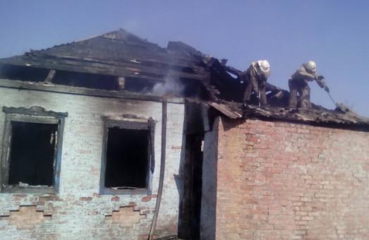 Господар згорів дотла в своєму будинку/ Фото