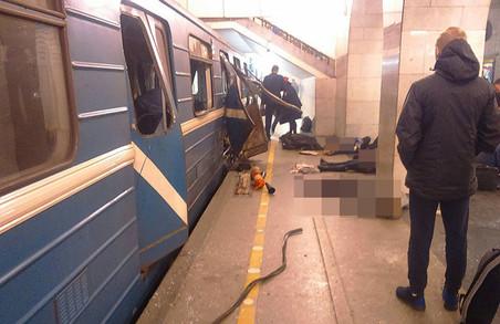 У Санкт-Петербурзі стався вибух у метро/ Фото, Відео