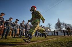 Рятувальники на марші / фоторепортаж