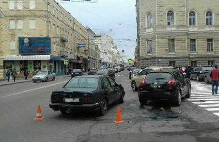 ДТП у Харкові: обійшлося без постраждалих / ФОТО