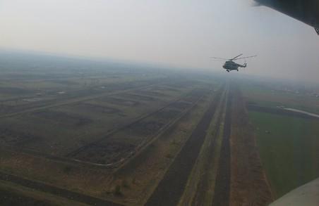 Як виглядають сьогодні склади у Балаклії / Вид з гелікоптеру