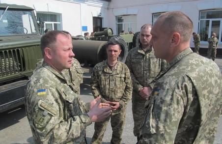 Близько 80 офіцерів вдосконалять власні знання з основ проведення заходів з тероборони в Харкові