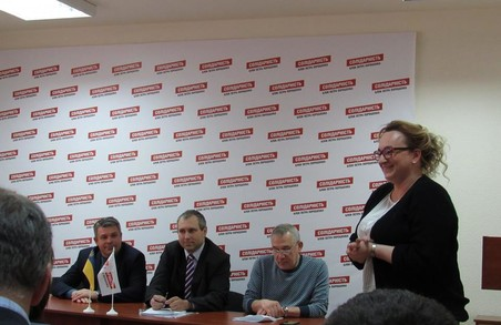 Марію Андреас було обрано заступницею голови харківської «Солідарності»